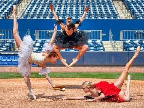 ballet myself baseball